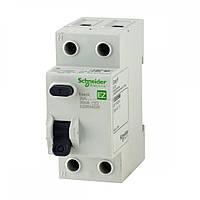 Дифференциальный выключатель нагрузки (УЗО) EASY9 2P 40A 100мА
