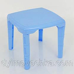 """Стол детский квадратный, цвет голубой """"K-PLAST"""""""