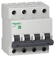 Автоматический выключатель EASY 9 4П 63А С 4,5кА 230В