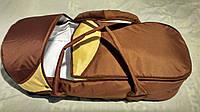 Переносная сумка-конверт для новонарожденных