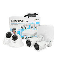 Dahua KIT-IP42-2B/2D - комплект IP видеонаблюдения