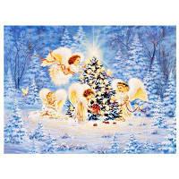 Поделки 5Д Алмазная Живопись Лесной Ангел домашнего декора 35 х 27см Цветной