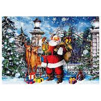 Сделай сам Алмаз Живопись Дед Мороз лося крест стежка комплект 40 x 30 см Цветной