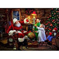 Сделай сам Алмаз Живопись дети Дед Мороз 40 x 30 см Цветной