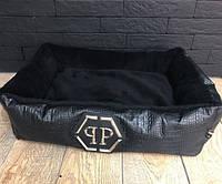 Лежак для домашних животных Philipp Plein D2750 черный