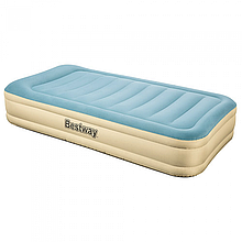 Надувная кровать Essence Fortech Bestway 69005,размер 191х97х36см, встроенный электронасос