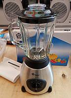Блендер измельчитель Domotec MS-6608 (чаша стекло)