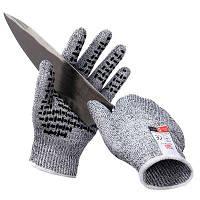 Пара профессиональных противоскользящих защитных перчаток