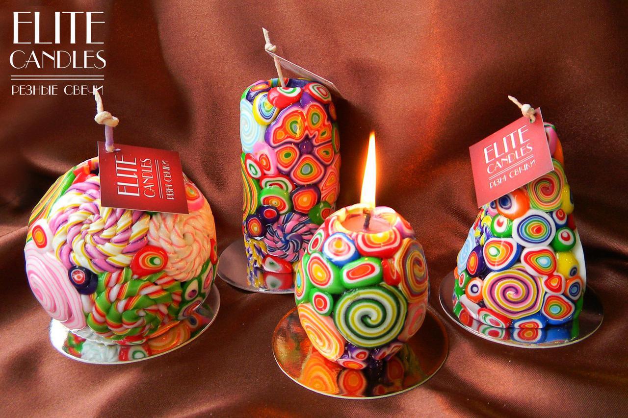 Свечи ELITE CANDLES - только оригинальные декоративные свечи ручной работы