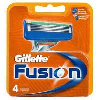 Картриджи Gillette Fusion 4 шт .