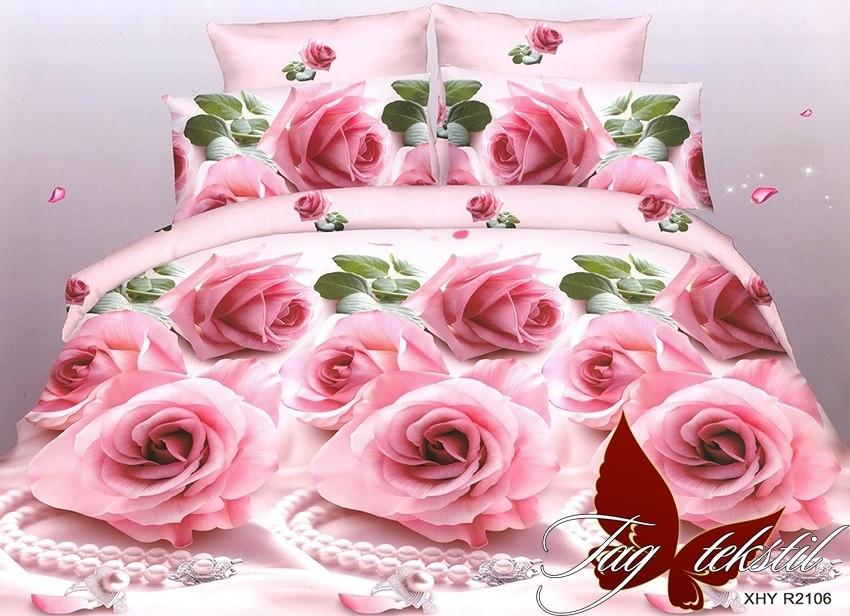 Комплект постельного белья R2106 двуспальный (TAG(2-sp)-522)