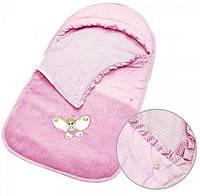Конверт детский розового цвета