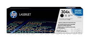 Заправка картриджа HP 304A black CC530A для принтера Color LaserJet LJ CM2320nf, CM2320fxi, CP2025dn, CP2025n