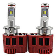 Светодиодная лампа цоколь H13, P6, Philips MZ 6000К, 9000 lm 45W, 9-36В