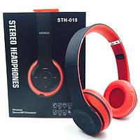Наушники беспроводные Monster Beats STN-019 Bluetooth MP3+FM, micro sd карта