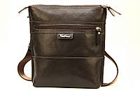 Кожаная мужская сумка через плечо Tom Stone