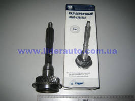 Вал первичный КПП 5 ст. (пр-во ГАЗ)  3302-1701022-01