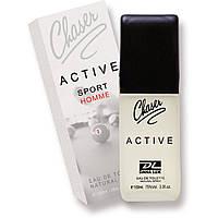"""Туалетная вода для мужчин Chaser """"Аctive Homme Sport"""" (100мл.)"""
