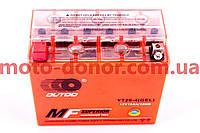 Аккумулятор на мототехнику   12V 18А   гелевый   (177x87.7x154, оранжевый, mod:YT 20-4)   OUTDO, шт
