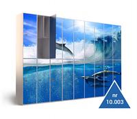 Металлический шкаф для раздевалок в бассейне