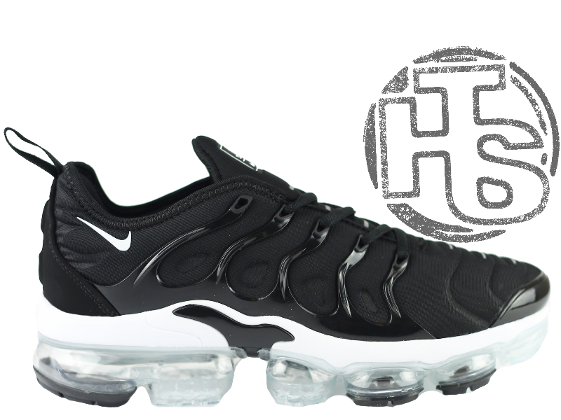 5b698d63 Мужские кроссовки Nike Air VaporMax Plus Black/White 924453-004 -  Интернет-магазин