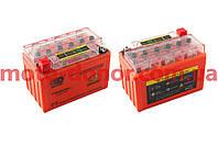 Аккумулятор на мототехнику   12V 9А   гелевый    (152x88x106, оранжевый, с индикатором заряда)   OUTDO, шт