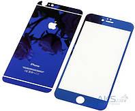 Защитное стекло Apple iPhone 6 Plus, iPhone 6S Plus|BeCover|Синий|На весь экран|
