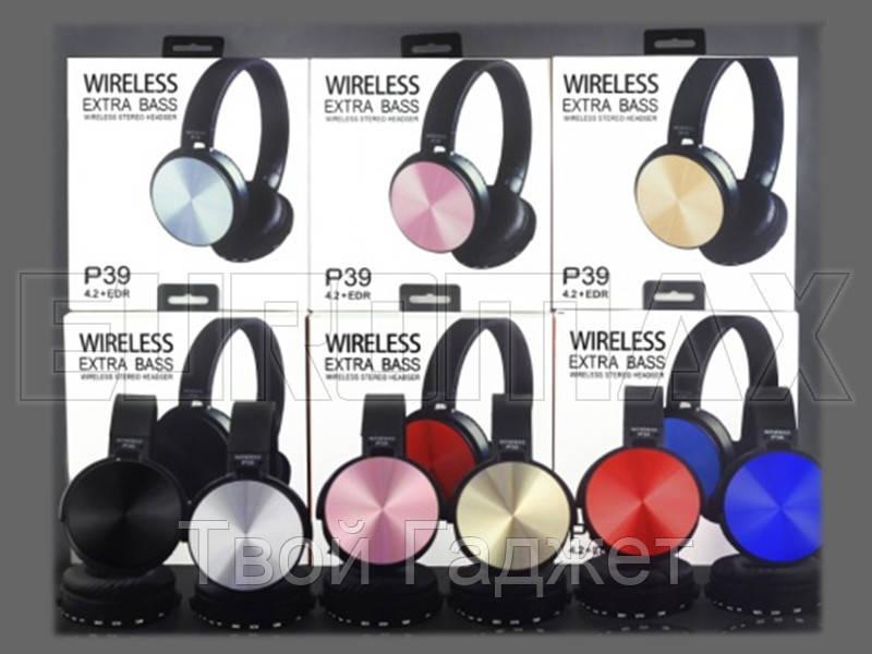 Наушники накладные с Bluetooth P39