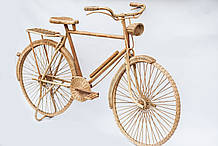 Велосипед з ротанга