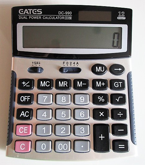 Калькулятор EATES DC-990