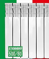 Алюминиевый радиатор ITALCLIMA VETORE 500/80/80