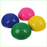 Zelart Полусфера массажная балансировочная Balance Kit FI-4939-4 резина, d-15см, h-7,5см, 280g