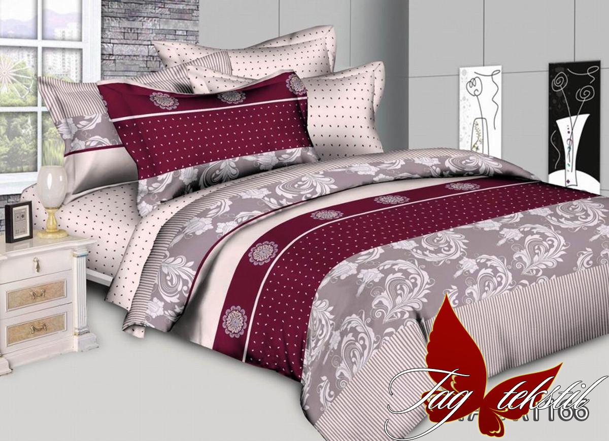 Комплект постельного белья R1166 двуспальный (TAG-285д)