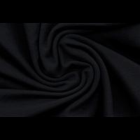 Ткань Тринитка ворсованная черная