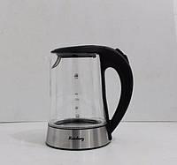 Чайник Rainberg стеклянный корпус с подсветкой 6203