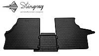 Резиновые коврики Stingray Стингрей Mercedes-Benz Vito I-W638 1995-2003 Комплект из 3-х ковриков Черный в салон. Доставка по всей Украине. Оплата при