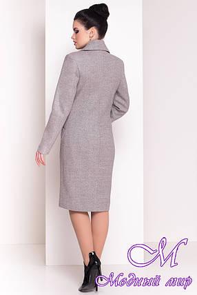 """Женское весеннее пальто классика (р. S, M, L) арт. """"Габриэлла 4459"""" - 21340, фото 2"""