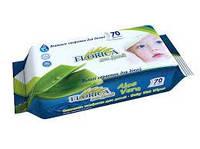 Влажные салфетки для детей 70 шт Florica
