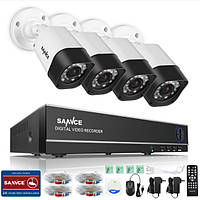 Система видеонаблюдения на 4 камеры
