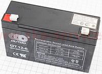 Аккумулятор на детские игрушки OT12-6 - 6V12Ah (L150*W50*H94,mm)