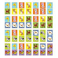 Настольная игра Домино Ферма 28 шт Viga Toys  (51306)
