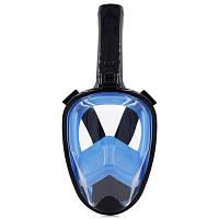 Aileap SNK01 Прочная маска для дайвинга черный+синий