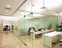 Офисные перегородки и двери из стекла на заказ