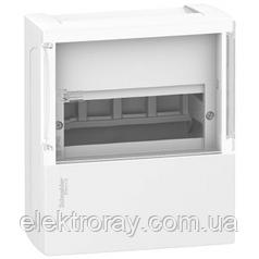 Щиток на 8 автоматов наружный Mimi Pragma Schneider Electric прозрачная дверь