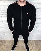 Спортивный костюм GUCCI D2802 черный, фото 1