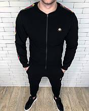 Спортивный костюм GUCCI D2802 черный