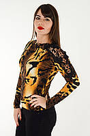 Блуза женская 42-46. Масло. Леопард