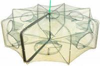Раколовка книжка, диаметр 80 см, простая и надежная, крупный улов обеспечен