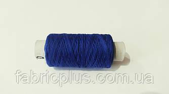 Нить  х/б  № 40  армиров.  синяя (040)