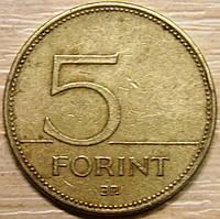 Монета Венгрии 5 форинтов 1997 г.